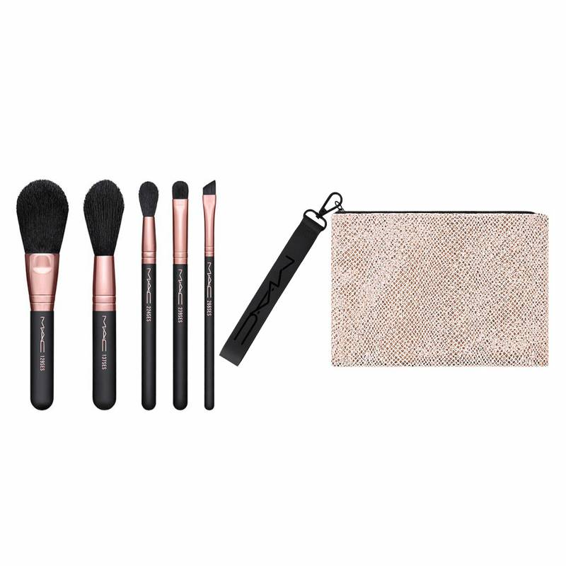MAC COSMETICS - Kit de Brochas Brush With Fame Pro Brush