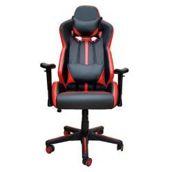 FORM OFFICE - Silla Escritorio Operativa Gamer Armo Rojo