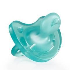 Chicco - Chupete Physio Soft Silicona Blue 6-12M