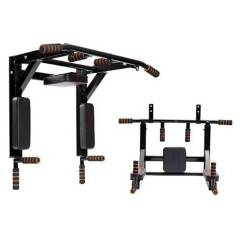 BASKO FITNESS - Barra Multifuncional Dominadas Pull Up