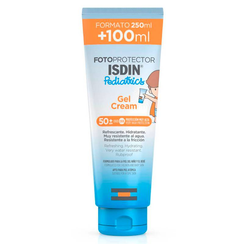 ISDIN - Fotoprotector Pediatrics Gel Crema 50+ 250 Ml