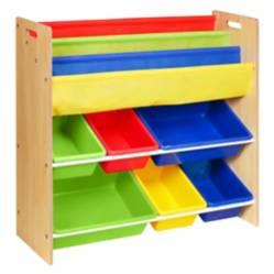 Organizador Y Librero Dual