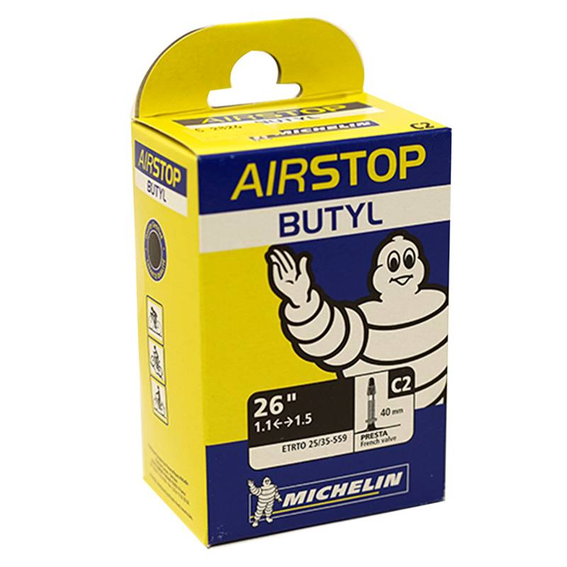 Michelin - Camara Airstop 26X1.1-1.5 V/F 40Mm