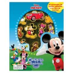 Editorial Planeta - Disney Mickey, Libros Contacto a la Diversión