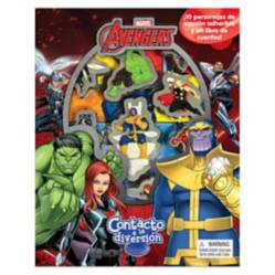 Editorial Planeta - Marvel Avengers, Libros Contacto a la Diversión