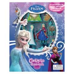Editorial Planeta - Disney Frozen, Libros Contacto a la Diversión