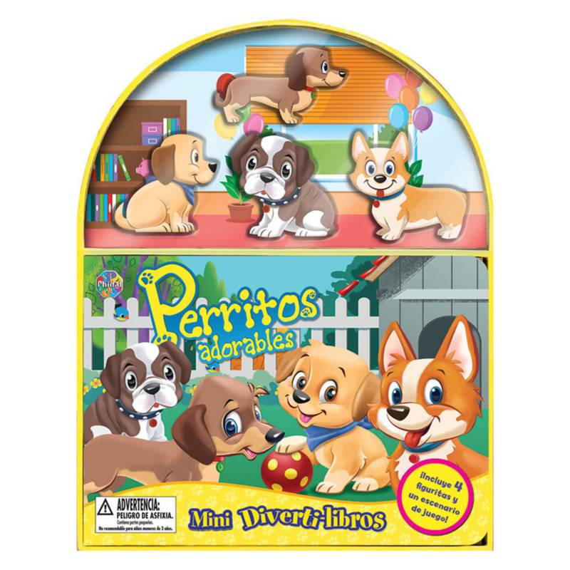EDITORIAL PLANETA - Puppies, Mini Diverti-Libros