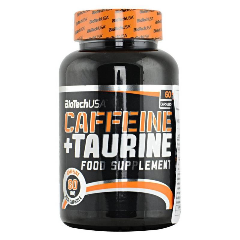 BIOTECHUSA - Caffeine + Taurine | 60 Caps