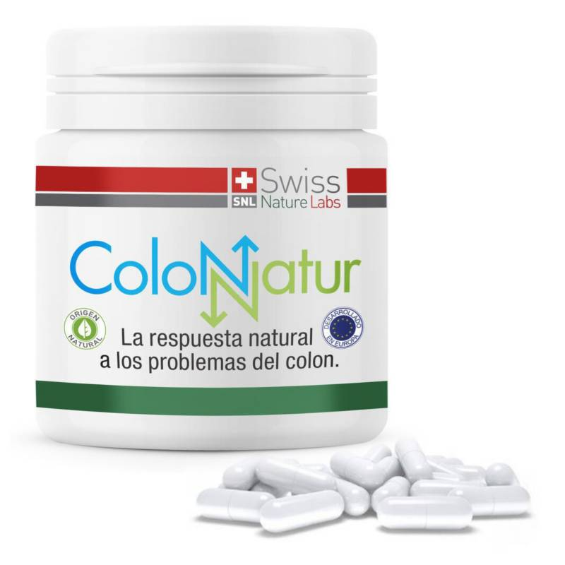 SWISS NATURE LABS - Salud Digestiva Colon Natur 30 Tomas