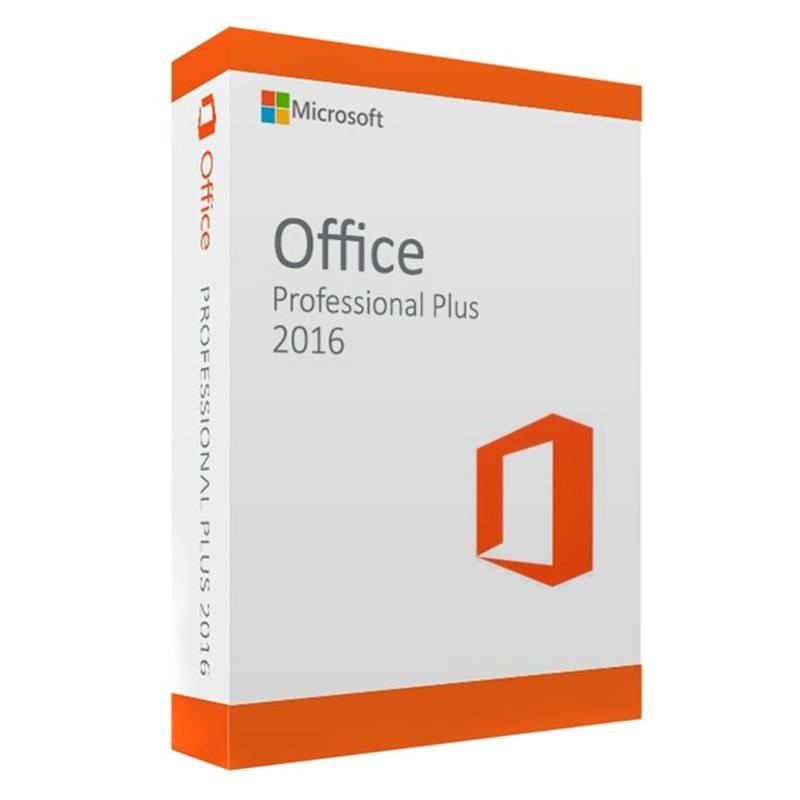 Microsoft - Microsoft Licencia Office 2016 Pro Plus Hogar y Empresa