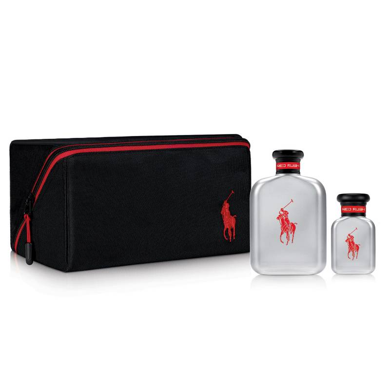 RALPH LAUREN - Set Perfume Hombre Polo Red Rush 125ml + 40 ml