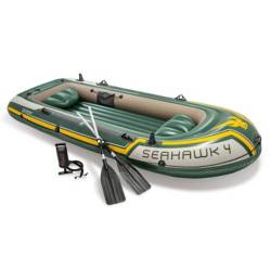Intex - Bote Inflable Seahawk 4