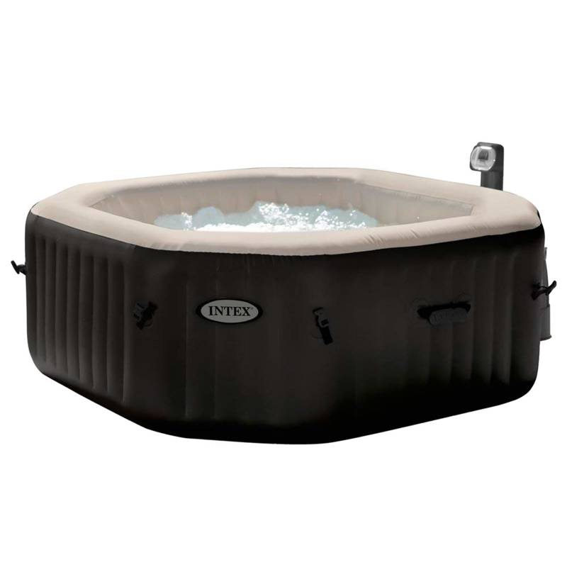 Intex - Spa Jacuzzi Inflable Premium Burbujas Octogonal 4