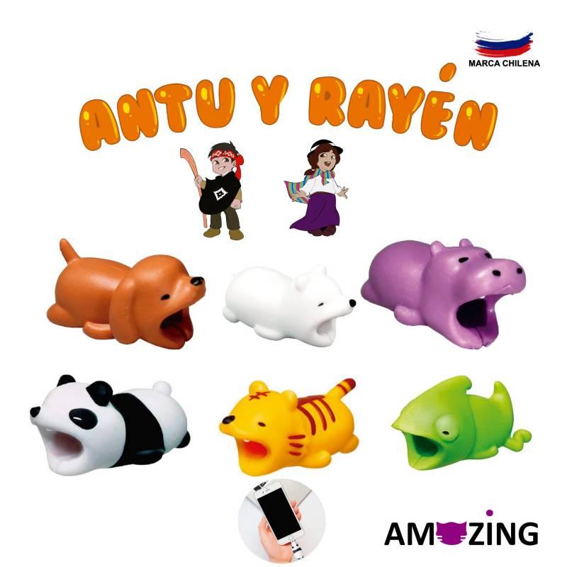 Amazing Pack Protector X 6 Figuras N° 2 Álbum Antu y Rayen