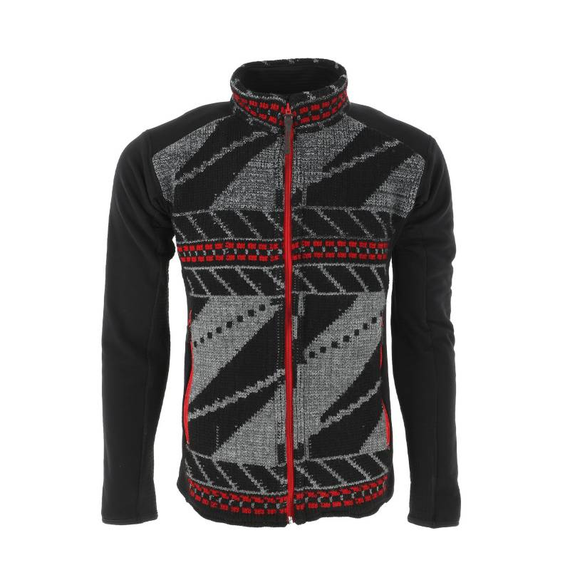 Karukinka - Kepeyik Sweater - Full Zip - Jacquard