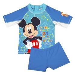 Mickey - Set Uv Bebé Tela Estampada +Uv 50