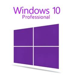 Microsoft Licencia Windows 10 Pro Hogar y Empresa