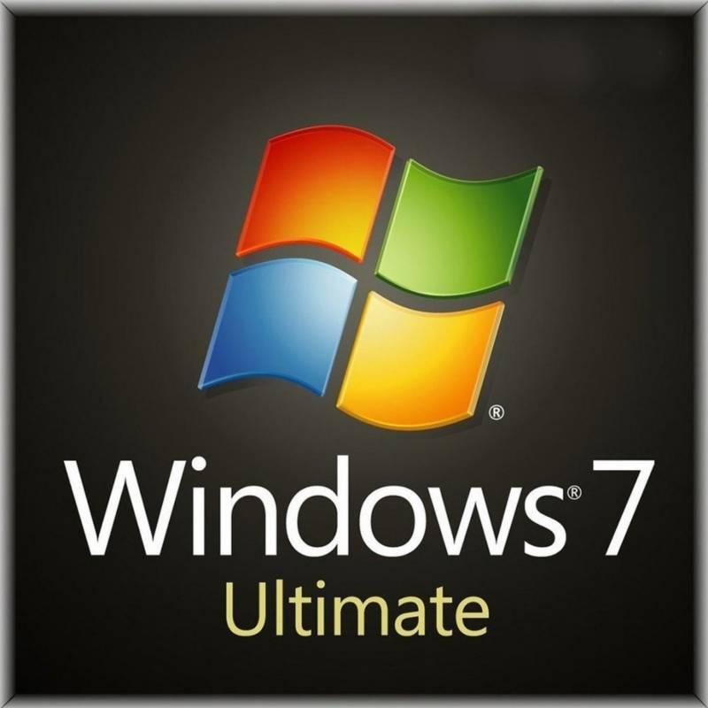 Microsoft - Licencia Windows 7 Ultimate Hogar y Empresa