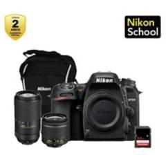 Nikon - D7500  18-55  70-300  Bolso  Memoria Sd 64Gb