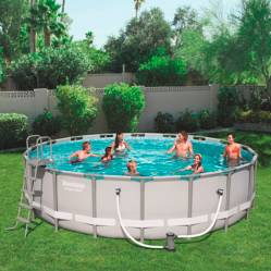 Piscina Power Steel Redonda 5.49M X 1.32 M