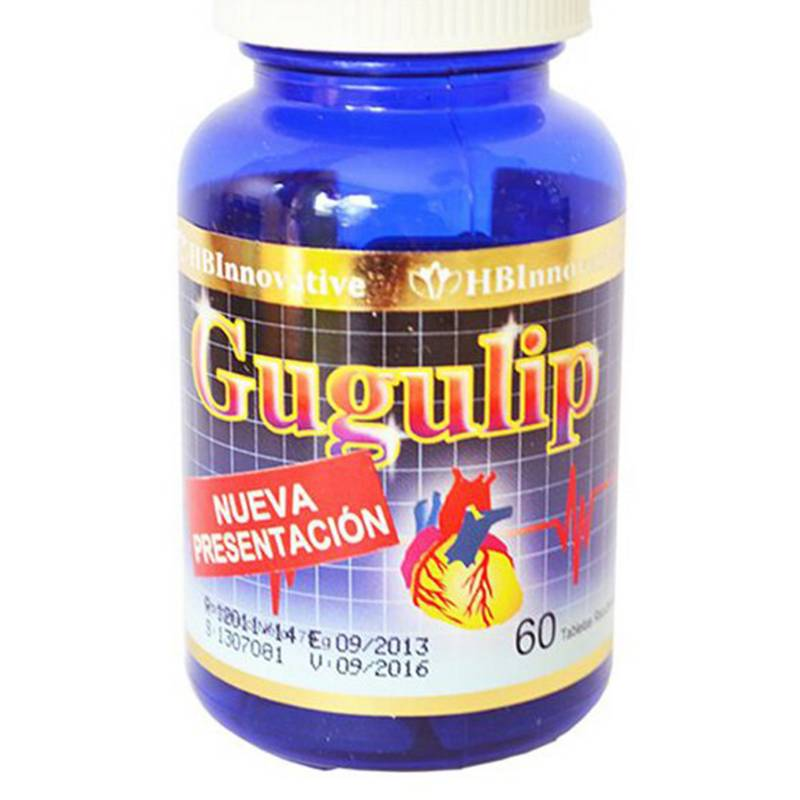 HB INNOVATIVE - Gugulip X 60 Comprimidos Recubiertos