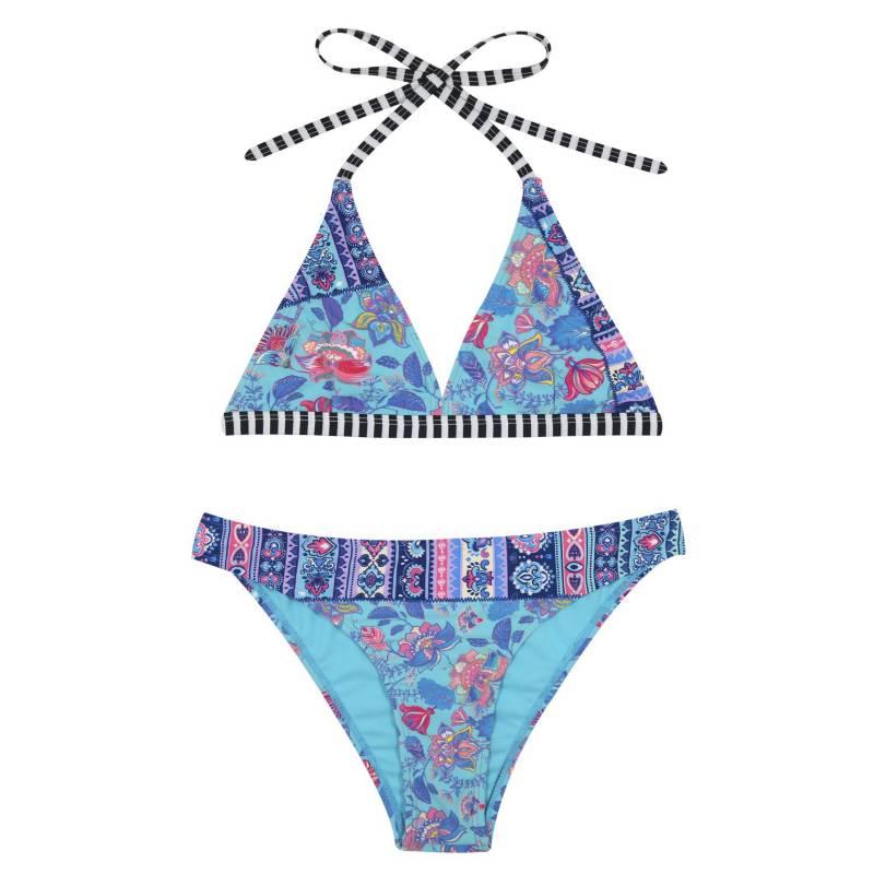 H2O WEAR - Bikini Teens Halter +Uv 30
