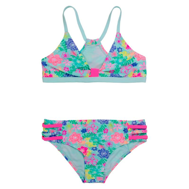H2O WEAR - Bikini Niña Flores +Uv 30