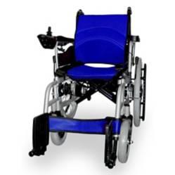 Silla de Ruedas Eléctrica 2 Motores Color Azul
