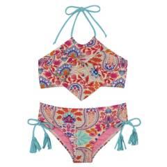 H2O WEAR - Bikini Niña Estampado Vuelos +Uv30