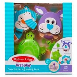 Melissa  Doug - Muñeca Md Favorite Pets Grasping Toys
