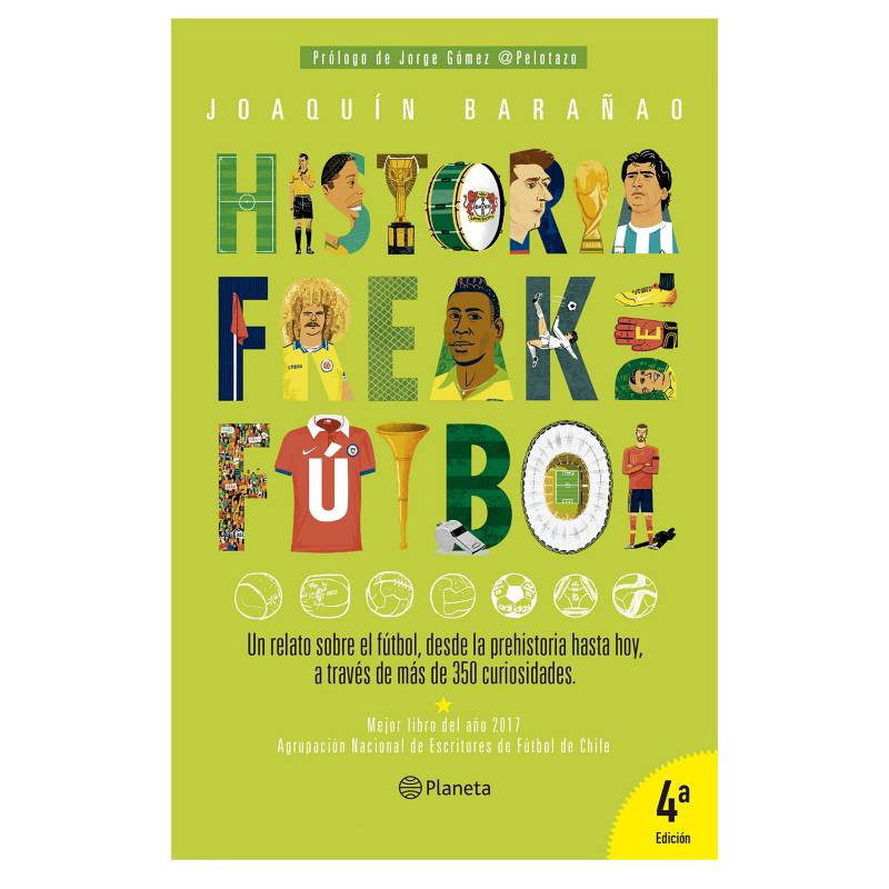 Editorial Planeta - Historia Freak Del Futbol