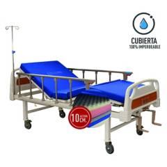 GLOMED - CATRE MANUAL 2P  COLCHÓN IMPERMEABLE PVC 10CM