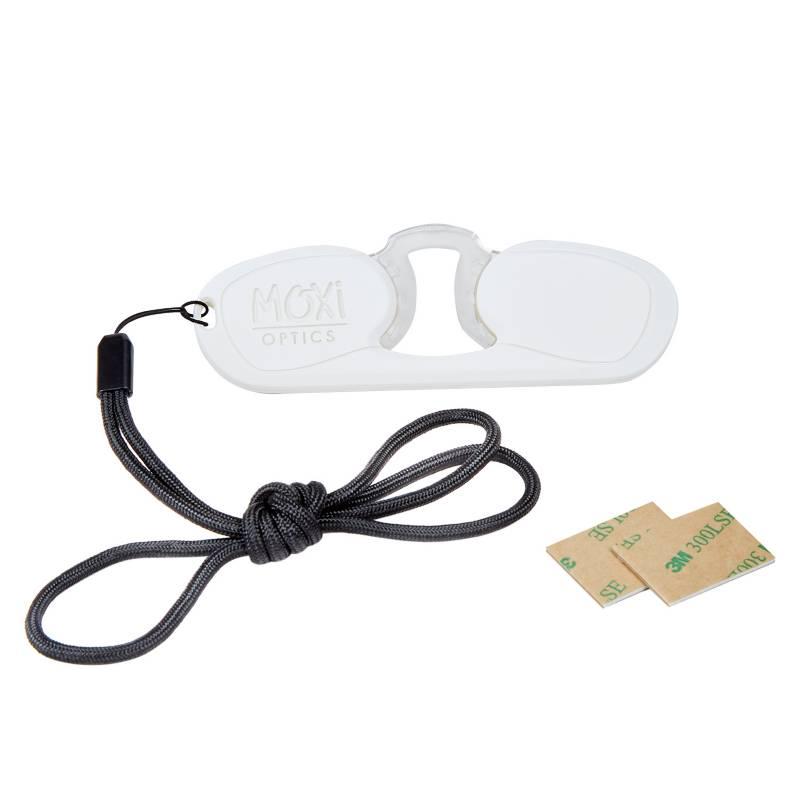MOXI - Anteojos Sos Rectangular Blanco C05 1.5