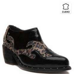 Zapato Mujer Isla Animal