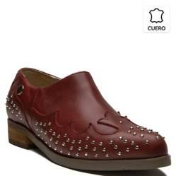 Zapato Mujer Andreua Rustic Red