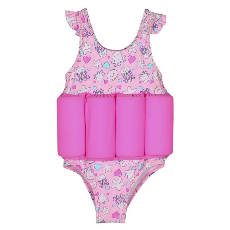 H2O WEAR - Traje de Baño Bebé con Flotador +Uv 50