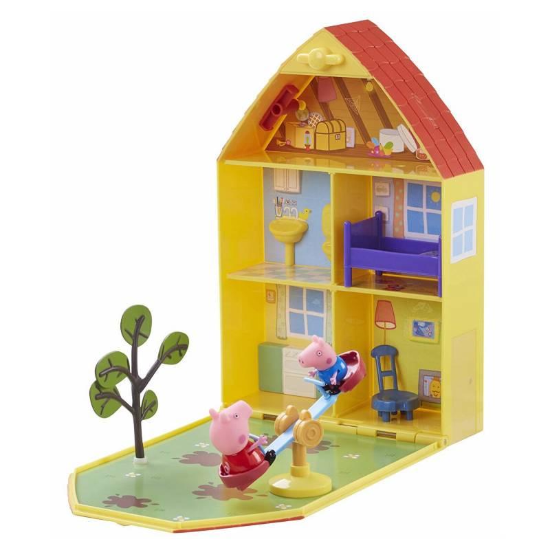 Peppa Pig Casa de Juego y Jardín