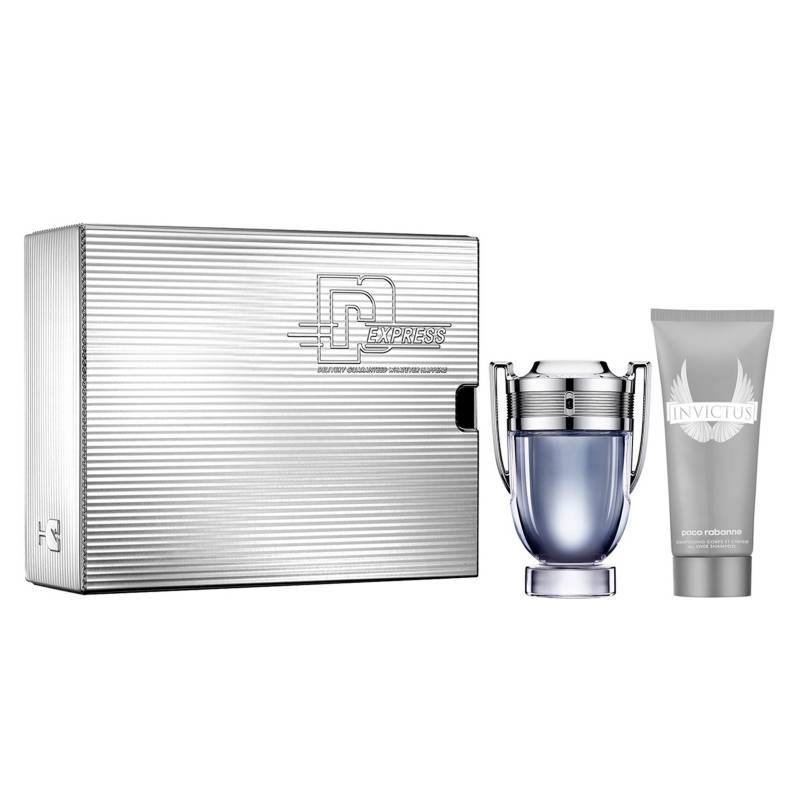 Paco Rabanne - Set Perfume Hombre Invictus EDT 100 ml + Shower Gel