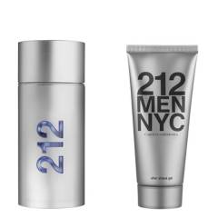 CAROLINA HERRERA - 212 NYC Men EDT 100 ML  Shower Gel 100 ML