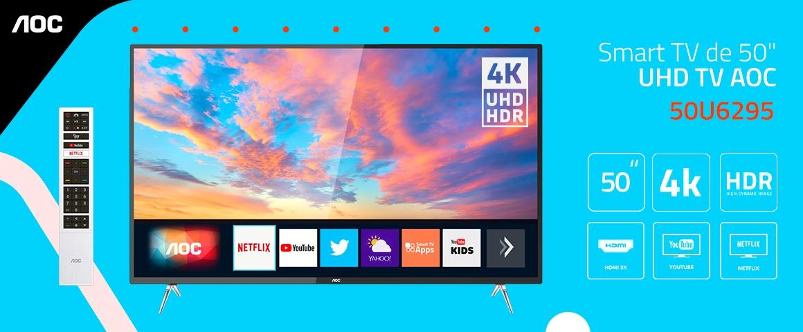 50U6295 LED 4K UHD SMART TV AOC