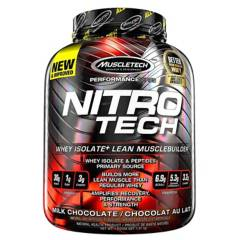 S/M - Nitro Tech 4 Lbs - Muscletech Chocolate