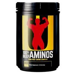 S/M - Amino Beef 400 tabl - Universal Nutrition