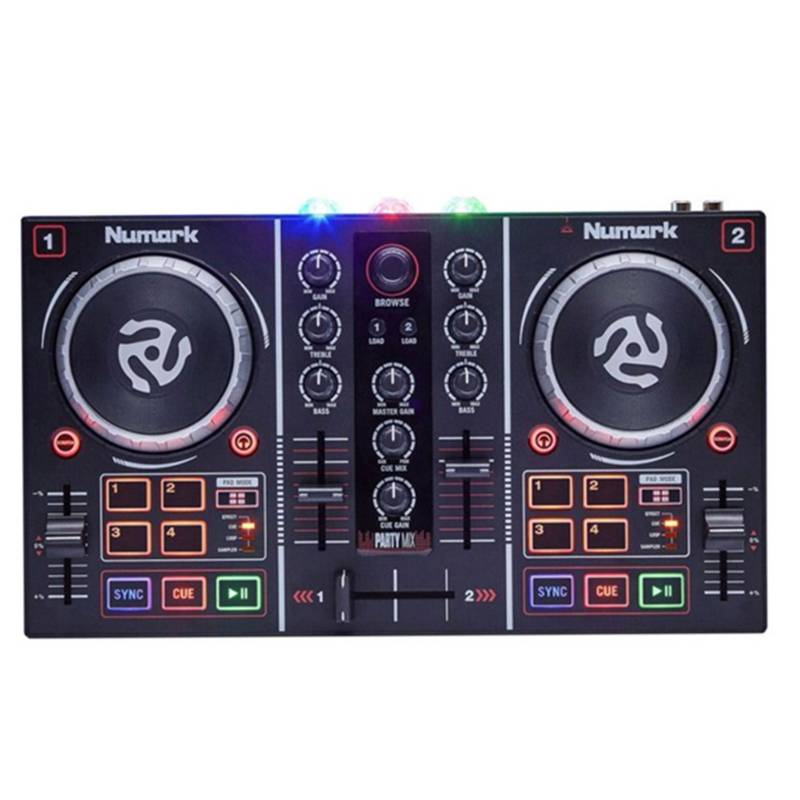 Numark - Controlador Dj Party Mix