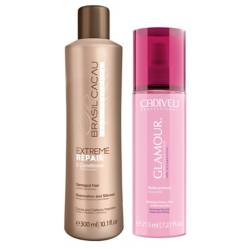 Cadiveu - Acondicionador Extreme Repair 300 ml + Fluido Glamour 200 ml