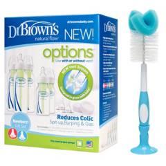 DR BROWN - Set Recién Nacido Options+Cepillo