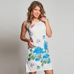 Vestido Estampado Flor