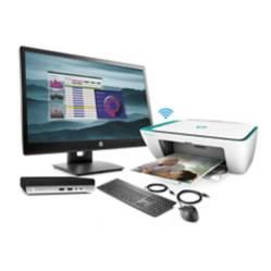 Mini PC HP 400 G4 Intel Core i3 8GB HDD 500GB + Monitor HP VH22 + Multifuncional HP 2675