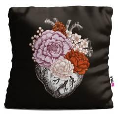 RETELA - Cojín 45x45 Ilustración Flor de Amor
