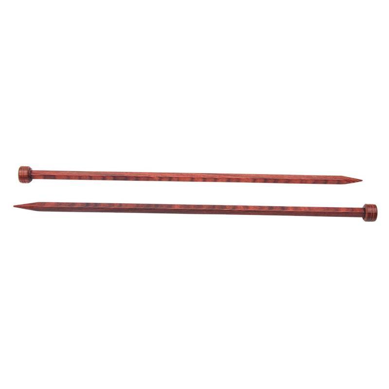 REVESDERECHO - Palillo Recto 35 cm 4,5 mm Cubics Knit Pro