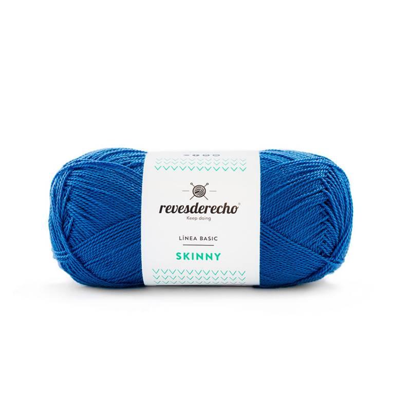 REVESDERECHO - Skinny Azul Azulino - 0022